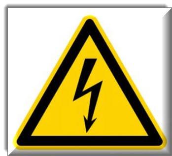 خطر التعرض للصعق الكهربائي