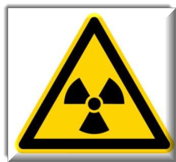 مواد مشعة أو إشعاع مؤين