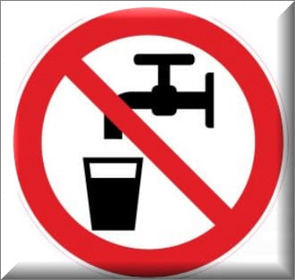 مياه غير صالحة للشرب
