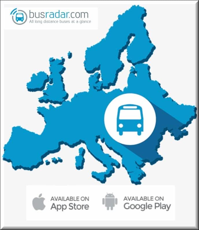 برنامج الباصات في المانيا واروبا ومعرفة مواعيد الباصات