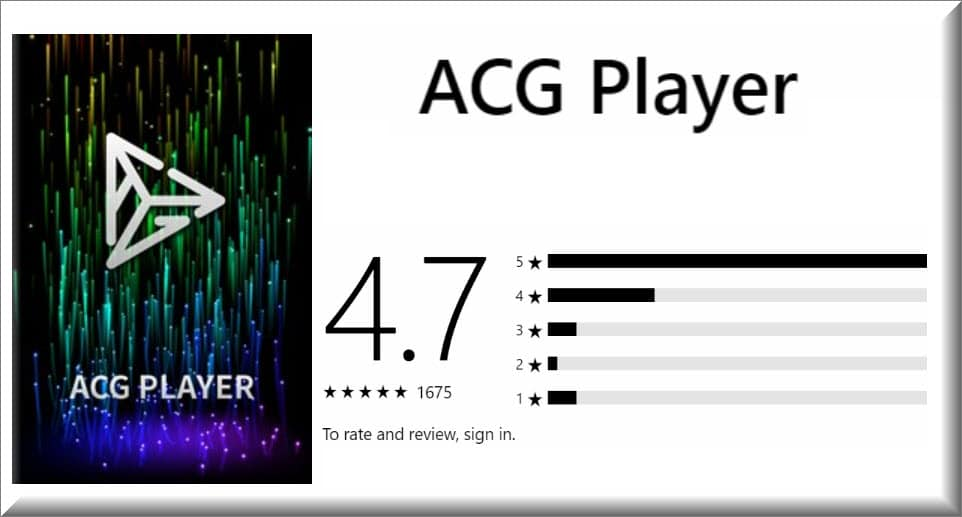 برنامج ACG Player 2019
