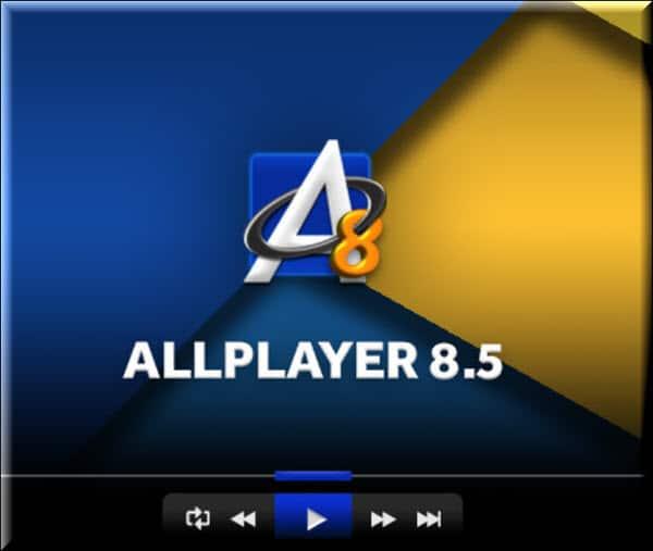 ضمن قائمة افضل مشغل فيديو للكمبيوتر لدينا ايضا برنامج ALLPlayer المجاني