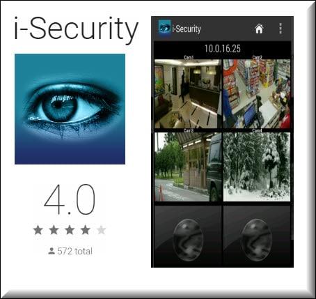 برنامج تشغيل كاميرات المراقبة على الموبايل   i-Security