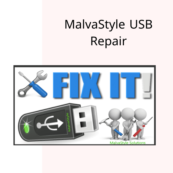 برنامج  MalvaStyle USB Repair اصلاح الفلاشات التي لا تقبل الفرمتة