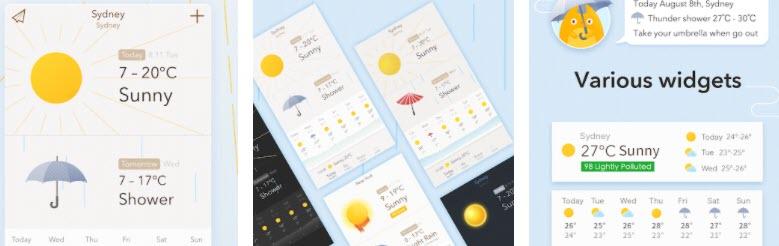 أفضل برنامج طقس للأندرويد تطبيقات الطقس للاندرويد